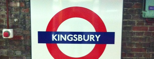 Kingsbury London Underground Station is one of Tube Challenge.