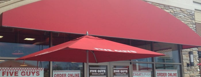 Five Guys is one of All-time favorites in United States.