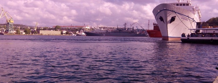 Sevastopol is one of cities.