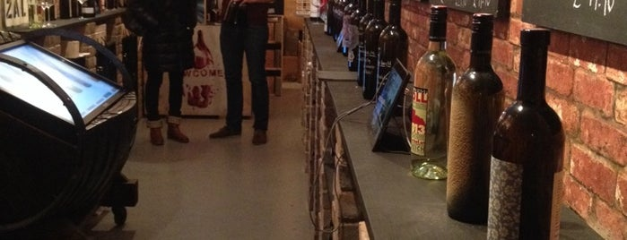 Newcomer Wines is one of east east london.