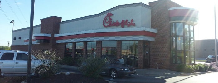 Chick-fil-A is one of The 15 Best Family-Friendly Places in Indianapolis.