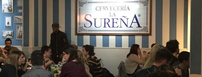 Cervecería La Sureña is one of M&M Barcelona centre.