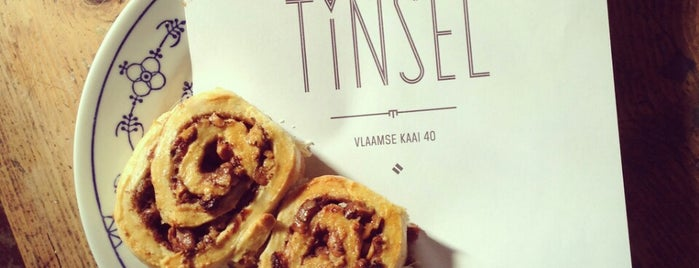 Tinsel is one of Petit-déjeuner Anvers.
