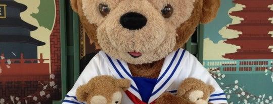 Duffy The Disney Bear is one of Walt Disney World - Epcot.