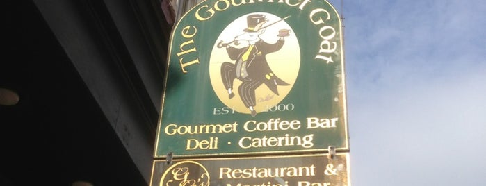 The Gourmet Goat & GG's Restaurant & Martini Bar is one of Hagerstown.