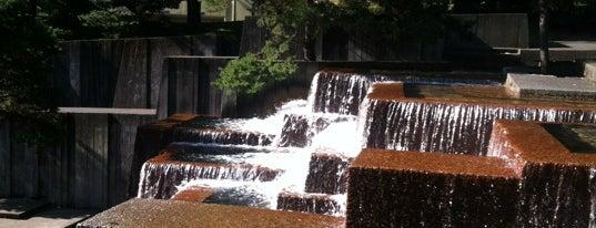 Ira C. Keller Fountain is one of Portland.
