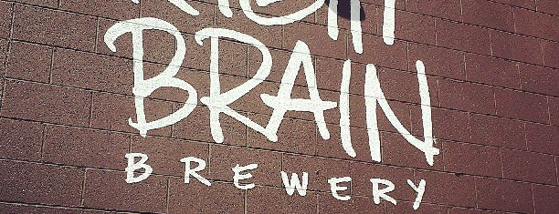 Right Brain Brewery is one of Michigan Breweries.