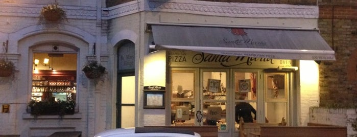 Santa Maria Pizzeria is one of Pizza and more pizza.