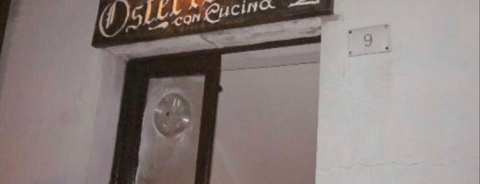 """Osteria """"Sara"""" is one of slow cooking.."""