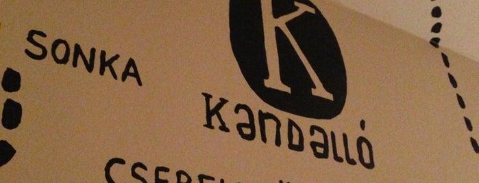 Kandalló Kézműves Pub is one of Budapest mixed.