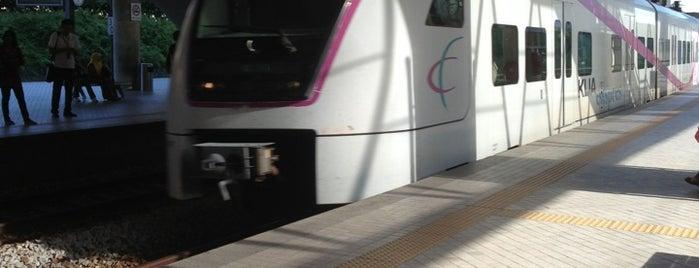 ERL KLIA Transit Putrajaya & Cyberjaya Station is one of Putrajaya.