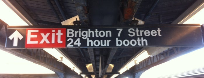 MTA Subway - Brighton Beach (B/Q) is one of Subway Stations.