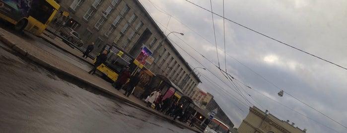 Площадь Балтийского вокзала is one of Санкт-Петербург.
