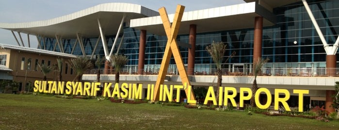 Sultan Syarif Kasim II International Airport (PKU) is one of Airport in Indonesia.