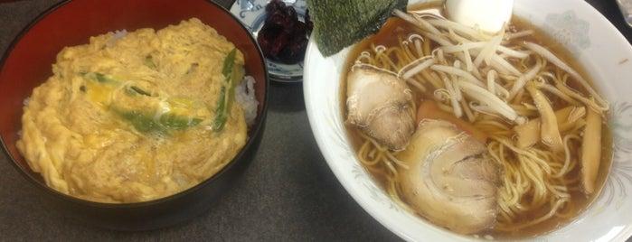 来山軒 is one of 兎に角ラーメン食べる.