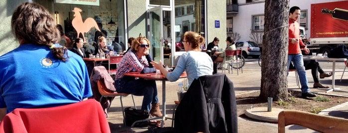 Café du Bonheur is one of Zürich ••Spotted••.