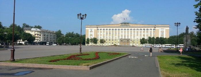 Площадь Победы-Софийская is one of Великий Новгород.
