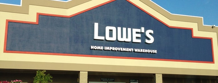Lowe's Home Improvement is one of Local.