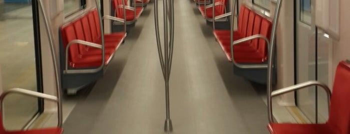 Olimpiyat Metro İstasyonu is one of M3 - Metro İstasyonları.