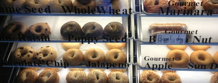 The Posh Bagel is one of San Francisco.