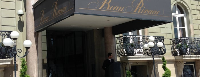 Hotel Beau-Rivage is one of Genève City Guide.