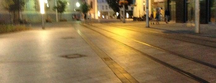 Kapucínska (tram) is one of Free WiFi.