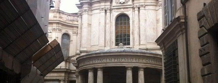 Santa Maria della Pace is one of 101 cose da fare a Roma almeno 1 volta nella vita.