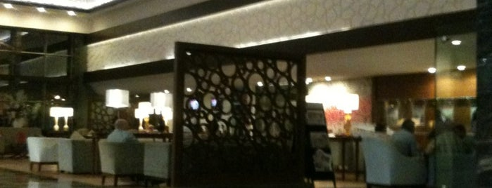 Ramada Plaza - Lobby Bar is one of Gezelim görelim.
