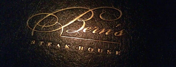 Bern's Steak House is one of Restaurants.