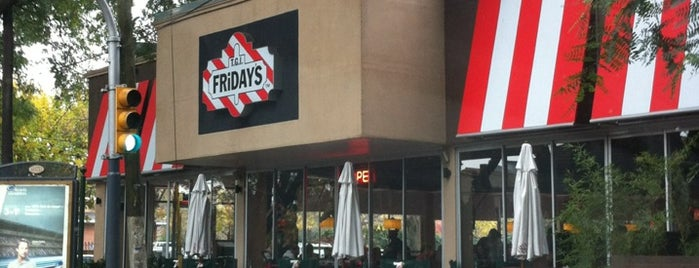 T.G.I. Friday's is one of Bar.