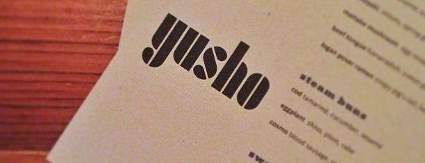 Yusho is one of Restaurants-I've-tried.