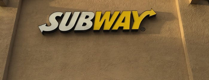 Subway is one of Foodies.
