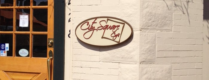 City Square Cafe is one of NoVA and DC Restaurants.