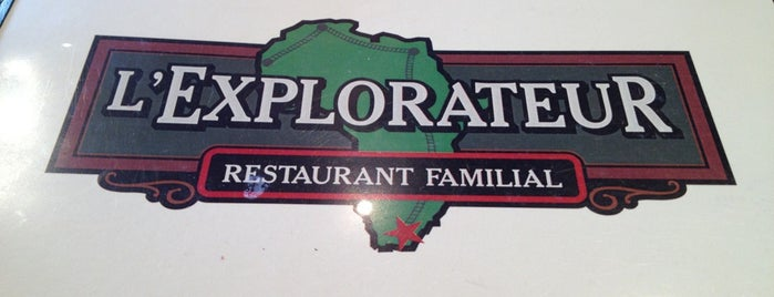 L'Explorateur is one of Restaurants.