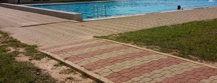 Swimming Pool (UTP) is one of Swimmer Badges.