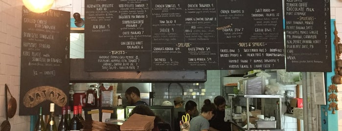 Batata Pita Bar is one of This Is Fancy: Eat Now (NYC).