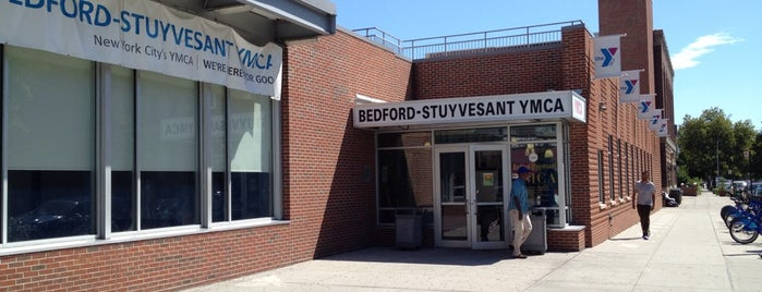 Bedford-Stuyvesant YMCA is one of clinton hill.