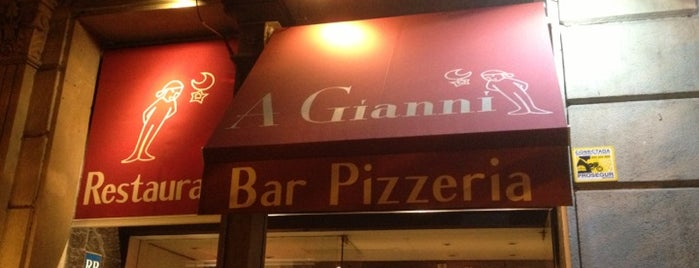 A Gianni is one of Pizzas de Barcelona.