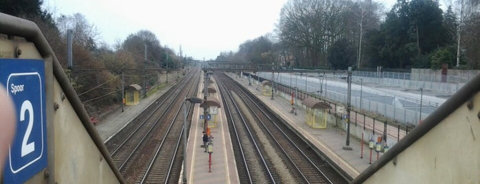 Station Hove is one of Bijna alle treinstations in Vlaanderen.