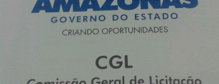 CGL - Comissão Geral de Licitação is one of Meus locais.