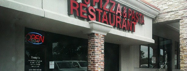 Tony's Pizza & Pasta is one of The 15 Best Places for a Pasta in Dallas.