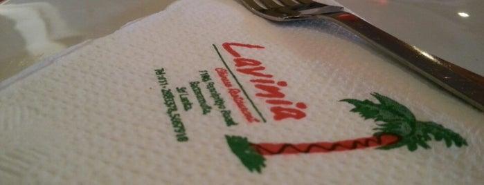 Lavinia Chinese Restaurant is one of Restaurants.