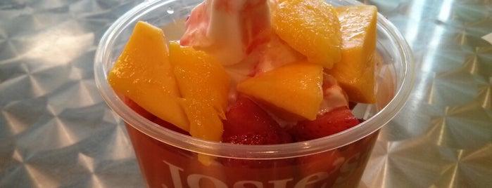 Josie's Frozen Yogurt is one of Fairfax.