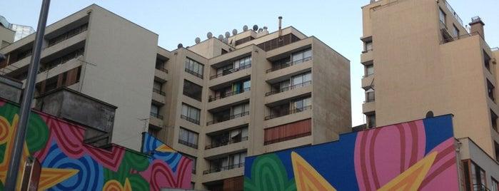 Barrio Bellas Artes is one of Santiago.