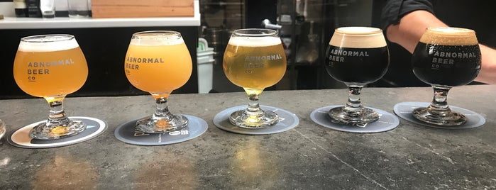 Abnormal Beer Company is one of LAS/LAX/SAN.