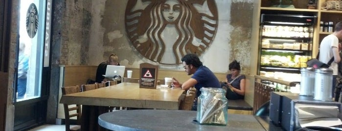 Starbucks is one of Barcelona to-do list.