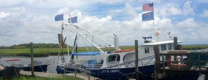Lady Jane Shrimp Boat is one of Georgia Beach Rentals.