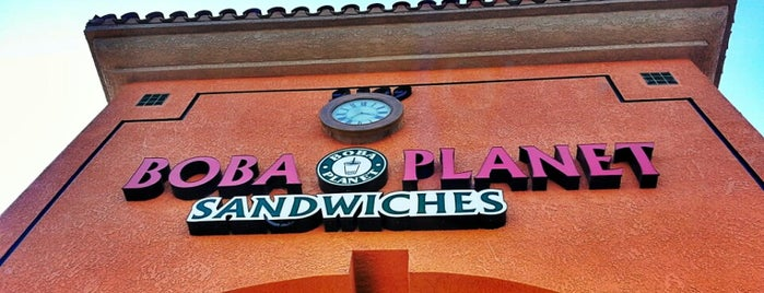Boba Planet & Sandwiches is one of My Most Visited Places!.