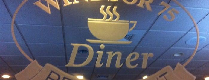 Windsor 75 Diner is one of Jeremy's Favorites.