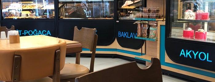 Akyol Simit Cafe is one of My turkey.